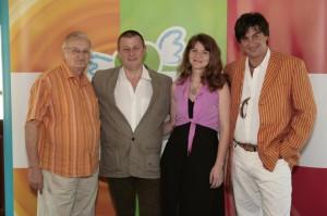 Nemere Istvánnal, dr. Lenkei Gáborral és Tihanyi-Tóth Csabával az Élni jó! pályázat díjátadóján