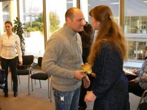 Buda Gáborral a Nestlé pályázat díjátadóján